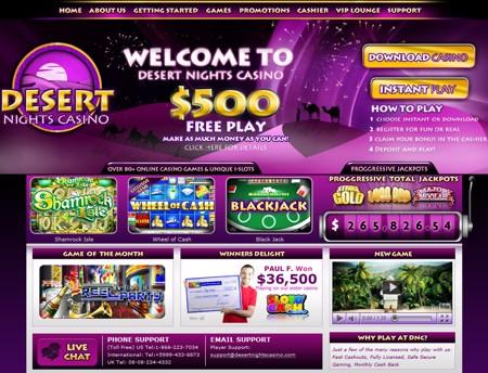 Desert Nights Casino HP