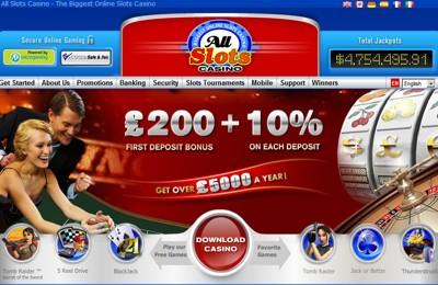 all slots homepage 5000