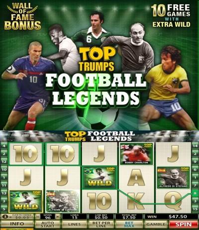 Top Trumps Football Legends Slot Machine Online ᐈ Playtech™ Casino Slots
