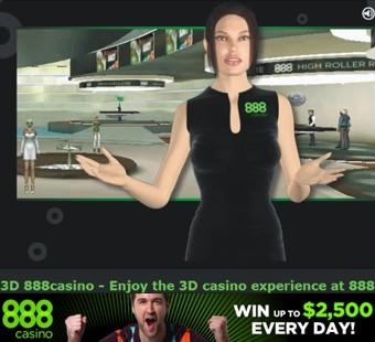 3D 888casino