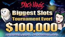 Black Magic 100K Slot Tournament