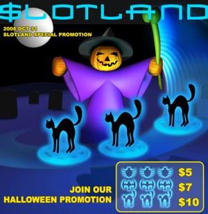 Slotland Halloween Promotion