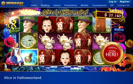 alice in halloweenland at winaday