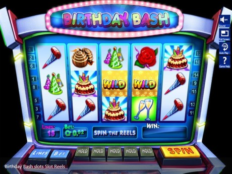birthday bash slot