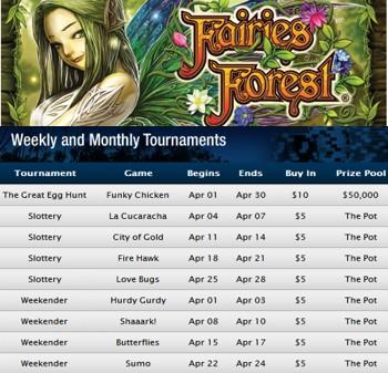 fairies forest april tournaments eh