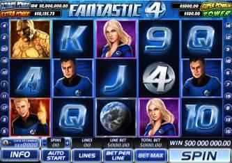 Fantastic 4 slot