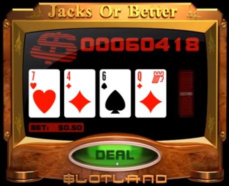 jacks or better vp