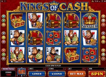 king of cash slot