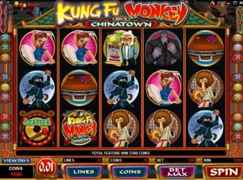 kung fu monkey slot